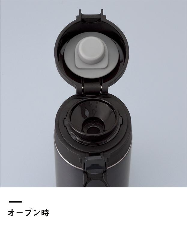 アトラス 軽量ワンタッチボトル480ml(AWN-500)オープン時