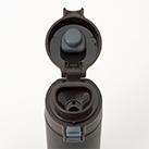 アトラス ステンレスワンタッチ軽量スリムマグボトル400ml(AWS-400)オープン時