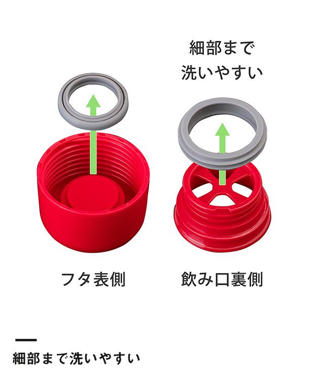 アトラス SWITCH マグボトル(キャップセット)350ml(AY-351)細部まで洗いやすい