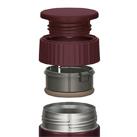 サーモス 真空断熱スープジャー 400ml(JBQ-401)フタはお手入れ簡単3パーツ。食洗機も対応 ※本体は食洗機へ入れないでください