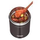 サーモス 真空断熱スープジャー 500ml(JBT-500)おいしい温度をキープ