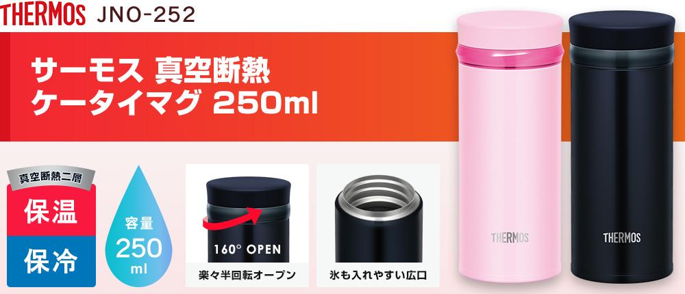 サーモス 真空断熱ケータイマグ 250ml(JNO-252)2カラー