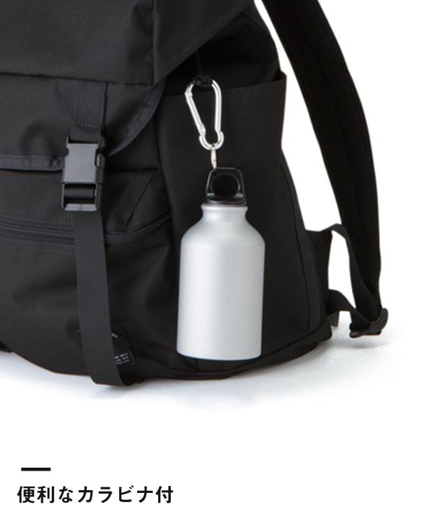 アルミマウンテンボトル(TS-0448)便利なカラビナ付