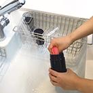 セパレートドリンクボトル(TS-1289)分解できるのでボトルの底まで洗いやすい