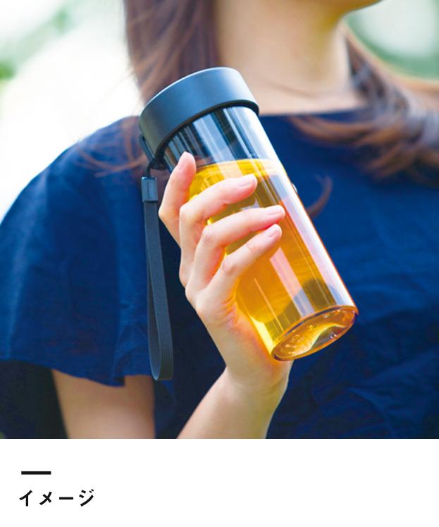 ストラップ付クリアボトル(TS-1304)イメージ