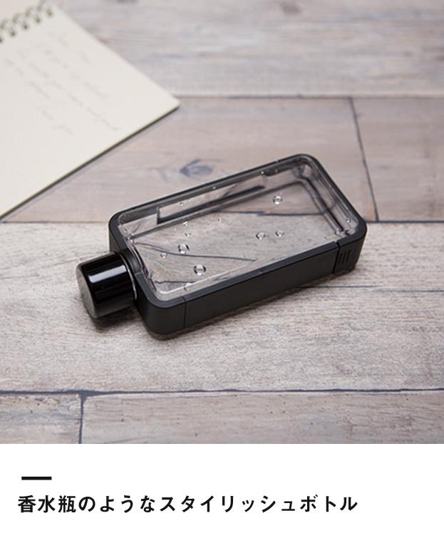 フレームスクエアボトル(TS-1370)香水瓶のようなスタイリッシュボトル