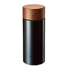 木目調サーモステンレスボトル 300ml(TS-1380)正面