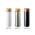 木目調サーモステンレスボトル 450ml(TS-1381)サイズイメージ