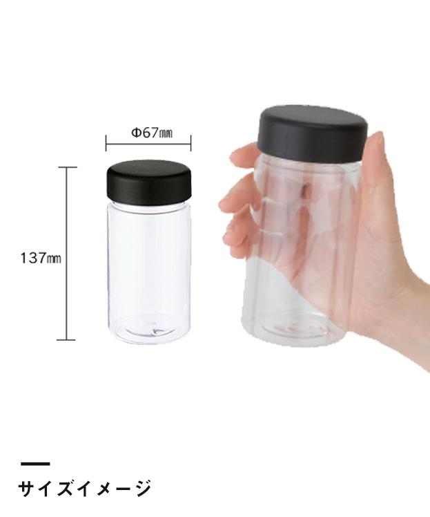 クリアタンクボトル 350ml(TS-1403)サイズイメージ