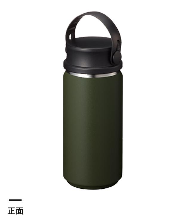 Zalattoサーモハンドルスタイルボトル 350ml(TS-1411)正面