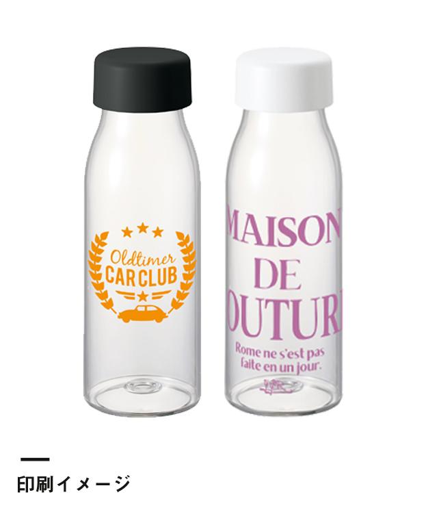 ミルク瓶クリアボトル(TS-1443)印刷イメージ