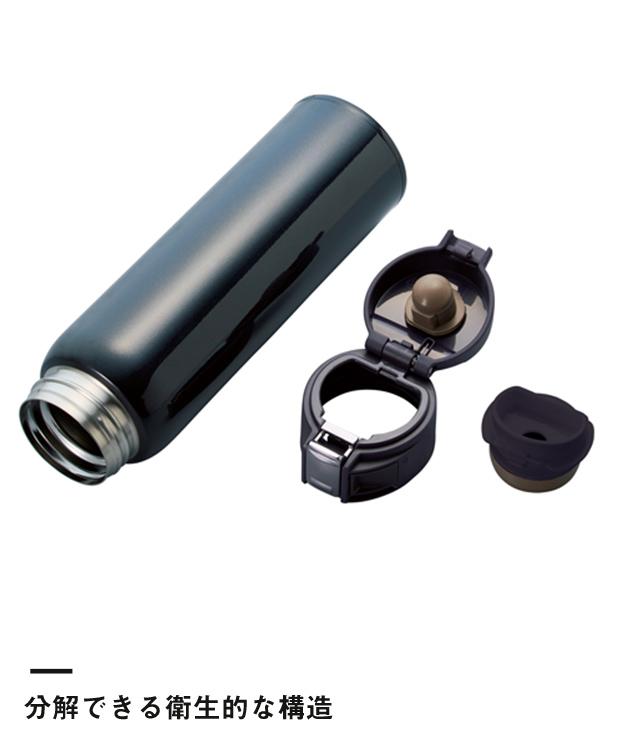 ワンタッチカービングサーモボトル 480ml(TS-1535)分解できる衛生的な構造