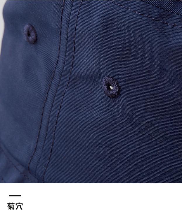 ナイロンバケットハット(9674-01)菊穴