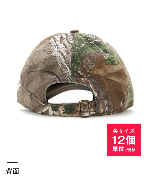 ベースボールローキャップ(polyester real tree camo)(noRT1400)背面-各サイズ12個単位で受付