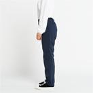 ドライストレッチパンツ(00370-SAC)女性着用イメージ(ネイビー/WLサイズ)・側面