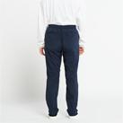 ドライストレッチパンツ(00370-SAC)女性着用イメージ(ネイビー/WLサイズ)・背面