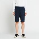 ドライストレッチハーフパンツ(00372-SAH)男性着用イメージ(ネイビー/Lサイズ)