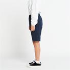 ドライストレッチハーフパンツ(00372-SAH)女性着用イメージ(ネイビー/WLサイズ)・側面