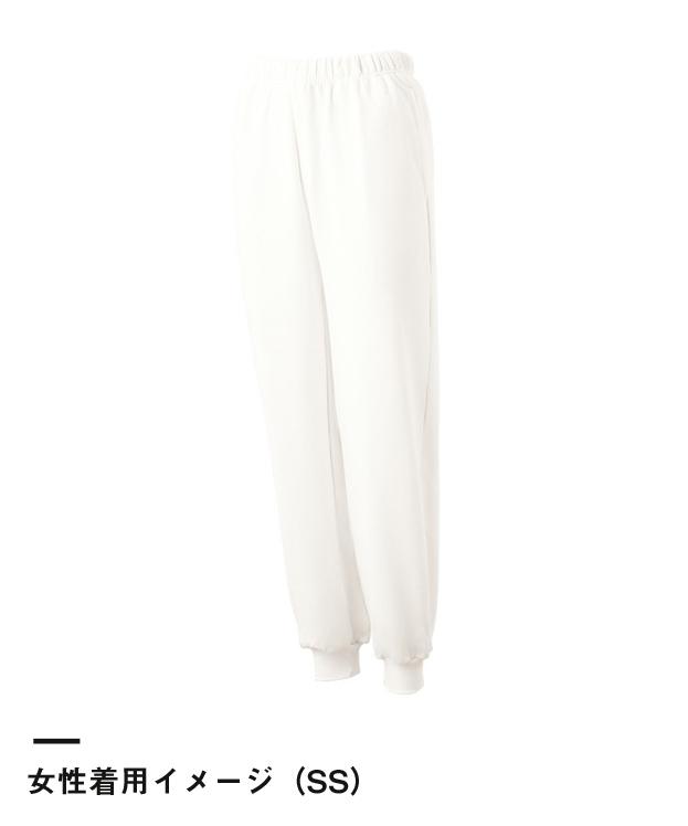 綿裏毛スウェットパンツ(8282)女性着用イメージ(SS)
