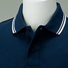 5.8オンス ベーシックラインポロシャツ(00191-BLP)襟