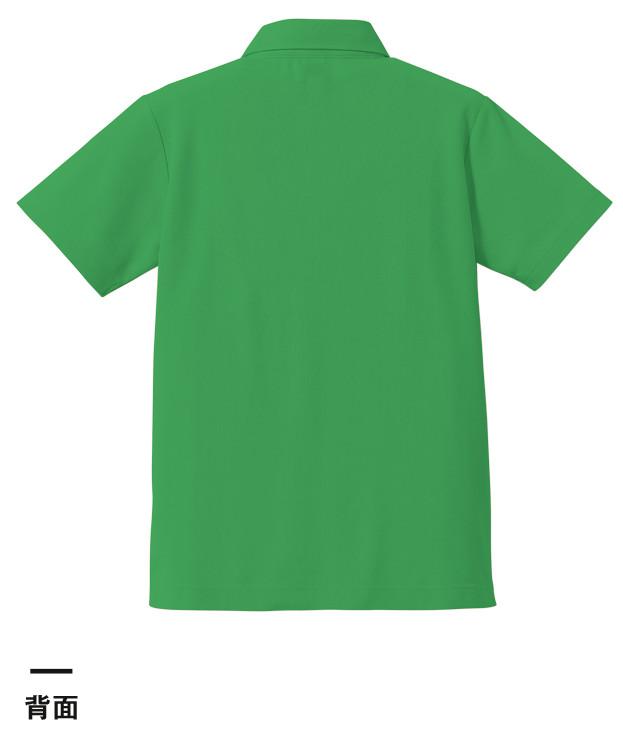 5.3オンス ドライカノコユーティリティーポロシャツ(ボタンダウン)(5052-01)背面