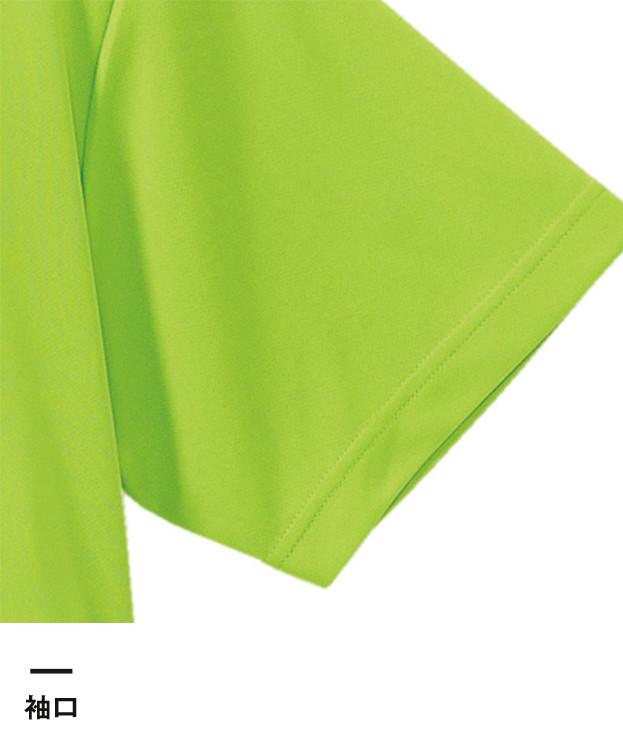 4.7オンス ドライシルキータッチポロシャツ(ローブリード)(5090-01)袖口