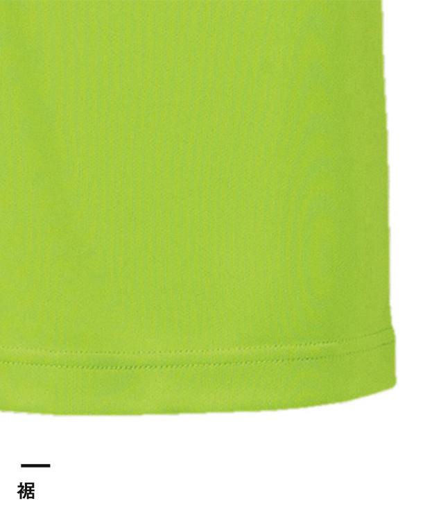 4.7オンス ドライシルキータッチポロシャツ(ローブリード)(5090-01)裾