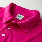 4.7オンス ドライシルキータッチポロシャツ(ローブリード)(5090-01)襟