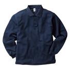ポケット付き長袖アクティブポロシャツ(APL-269)正面