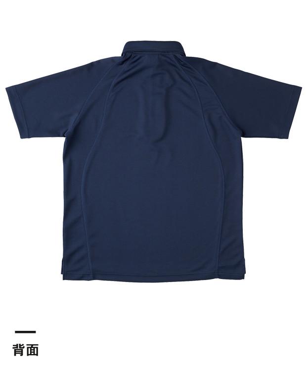 ボタンダウンポロシャツ(BDP-262)背面