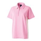 サイドラインジップシャツ(EG-210)女性着用イメージ(SS)