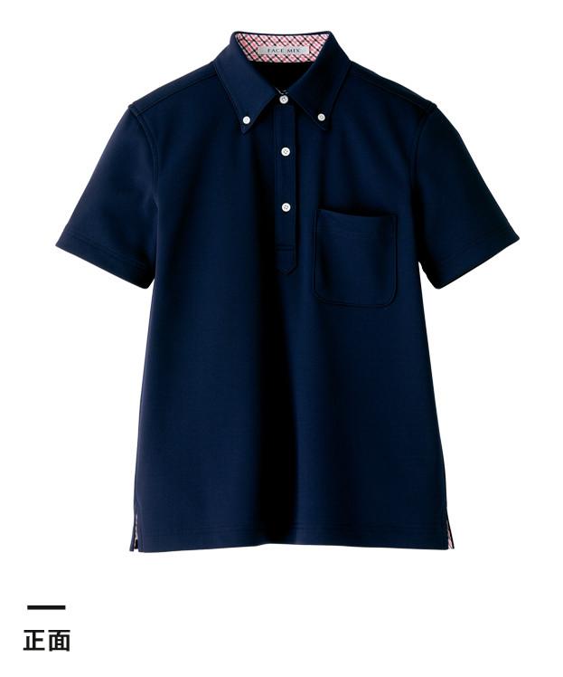 レディス吸水速乾ポロシャツ(チェック)(FB4017L)正面