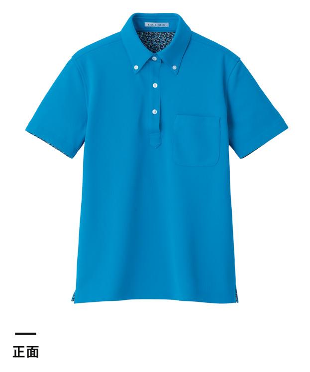レディス吸水速乾ポロシャツ(花柄A)(FB4018L)正面