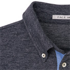 ユニセックス吸汗速乾ポロシャツ(FB4531U)襟