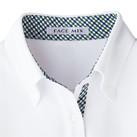 吸水速乾メンズポロシャツ(チェック)(FB5023M)襟