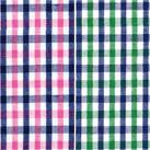 吸水速乾メンズポロシャツ(チェック)(FB5023M)柄(ピンク×ネイビー・グリーン×ネイビー)