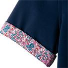 吸水速乾メンズポロシャツ(花柄B)(FB5025M)袖口
