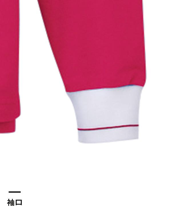 長袖ポロシャツ(KU1401)袖口