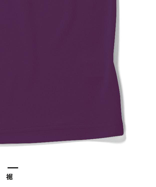 ドライポロシャツ(MS3107)裾