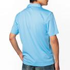ドライポロシャツ(MS3107)背面(着用)