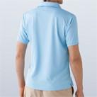 ベーシックドライポロシャツ(MS3111)背面(着用)