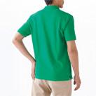 ポケット付CVC鹿の子ドライポロシャツ(MS3114)背面(着用)