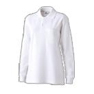 綿100 ちょうちん袖ポロ(NEO-321S)女性着用イメージ(S)