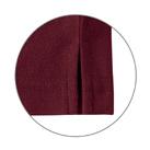 綿混長袖ポケ付ポロ(VP-902)裾スリット