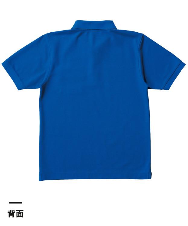 ベーシックスタイルポロシャツ(ポケット付)(VSP-268)背面