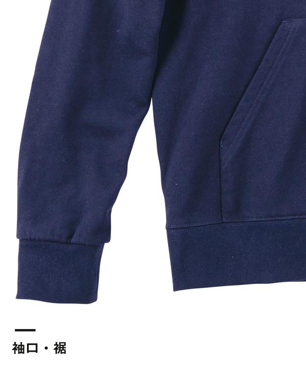 9.7オンス スタンダードWフードプルパーカー(00188-NNH)袖口・裾