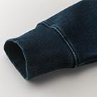 12.2オンス デニムスウェットフルジップパーカ(3905-01)袖口