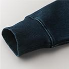 12.2オンス デニムスウェットプルオーバーパーカ(3907-01)袖口