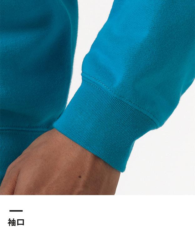 10.0オンス クルーネックスウェット(裏パイル)(5044-01-02)袖口
