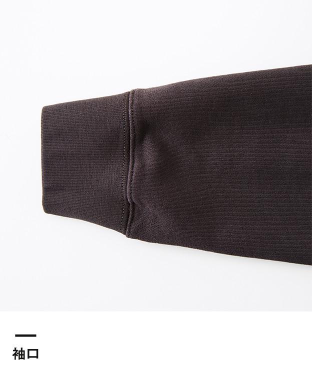 8.8オンス ピグメントダイスウェットプルオーバーパーカ(5065-01)袖口